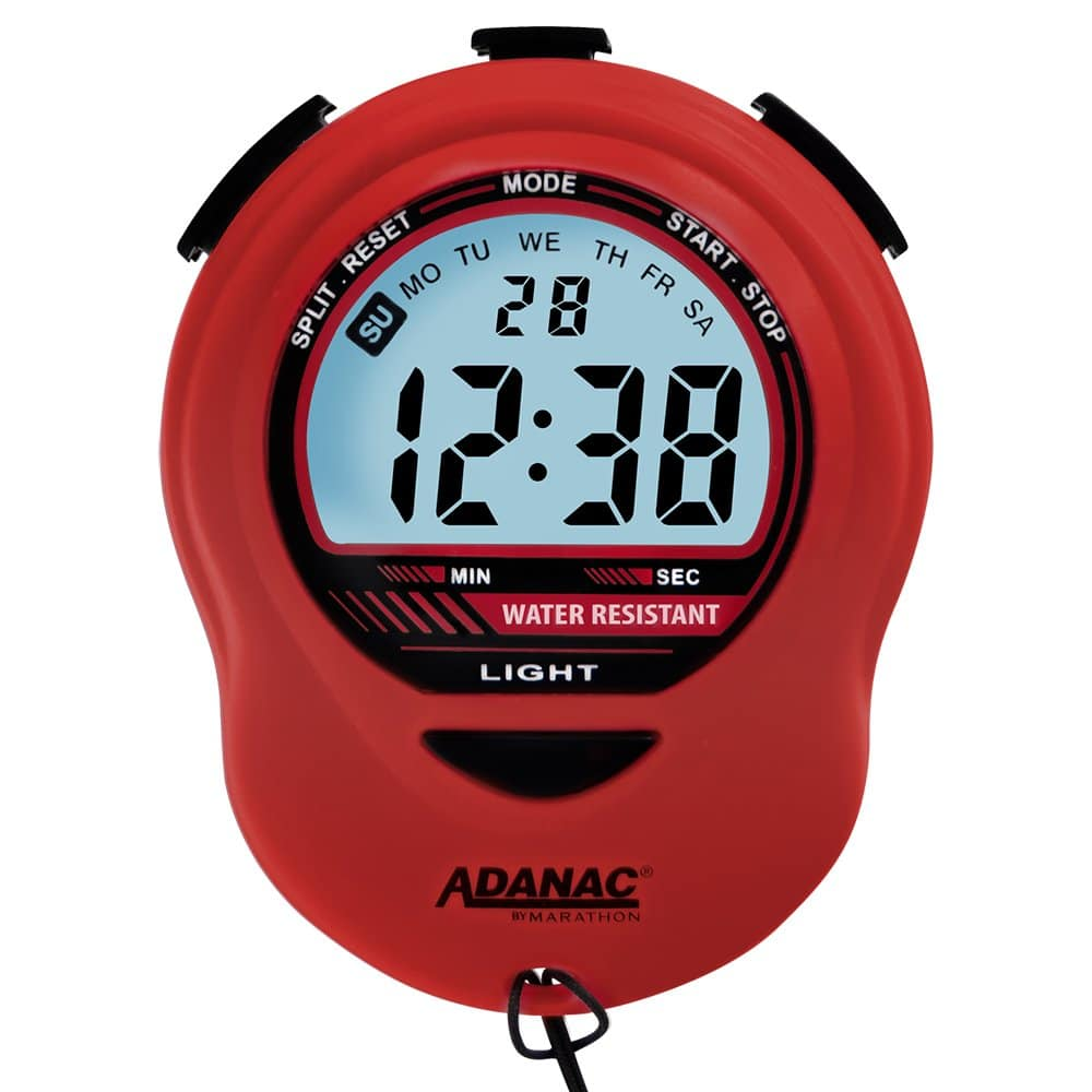 Adanac Digital Glow Stopwatch Timer
