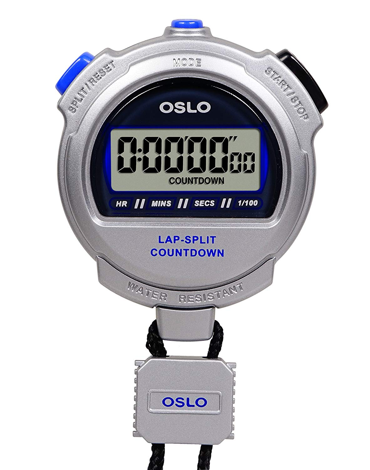OSLO Silver 2.0 Twin Stopwatch