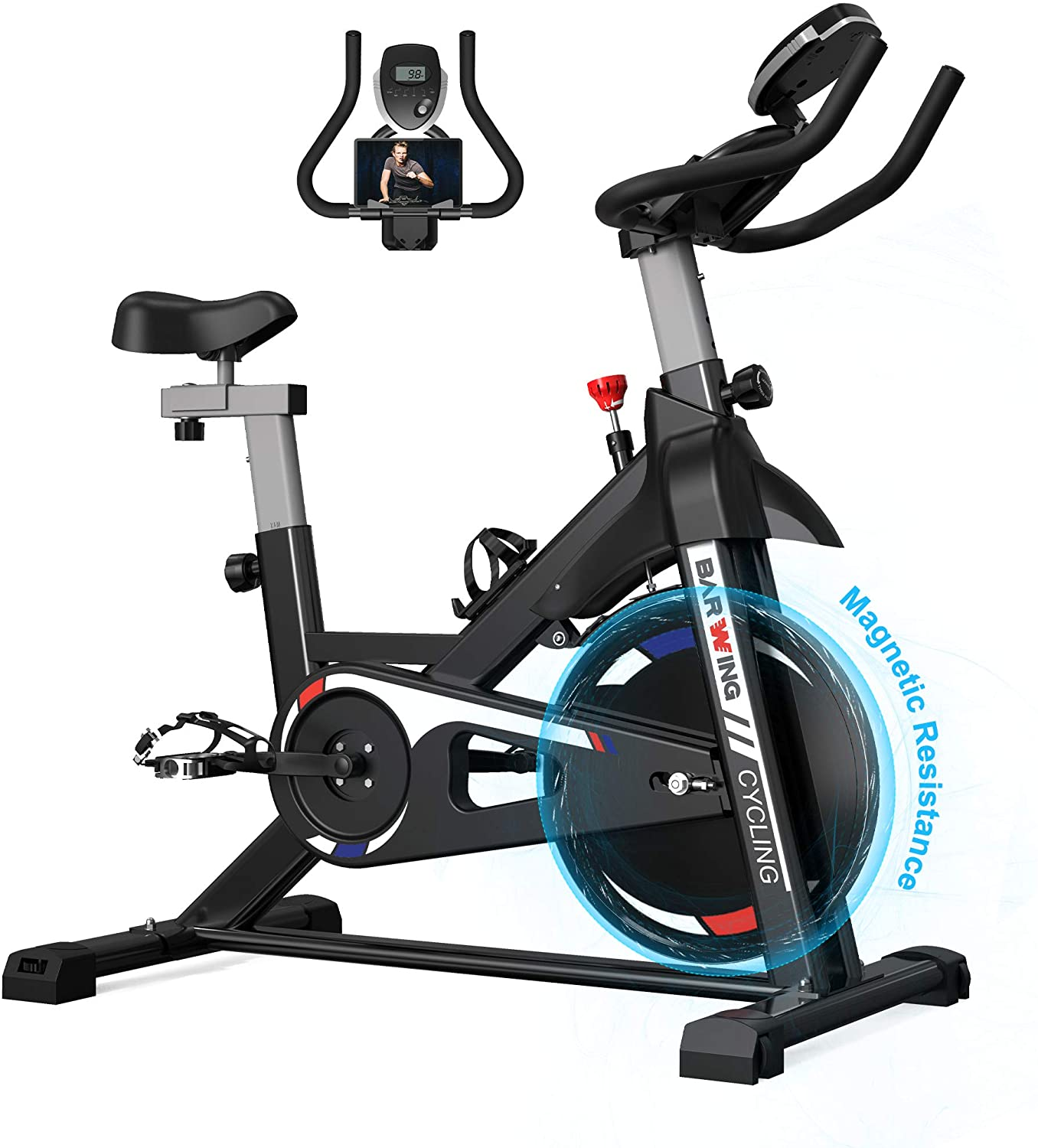 BARWING Magnetic Resistance Exercise Bike