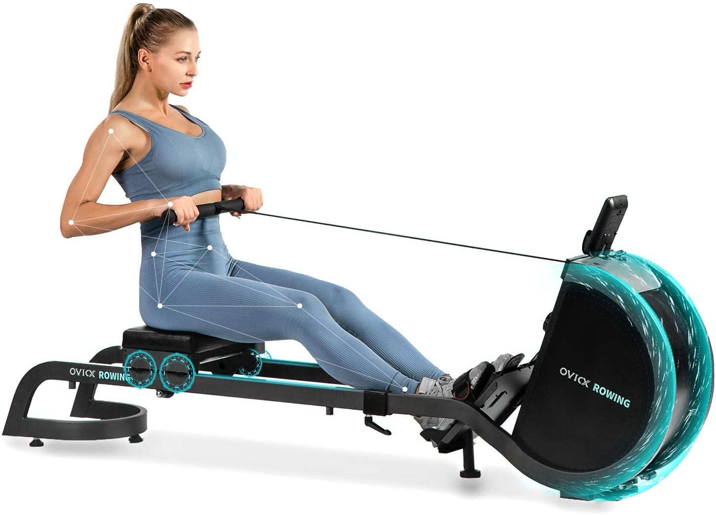 OVICX Magnetic Rowing Machine