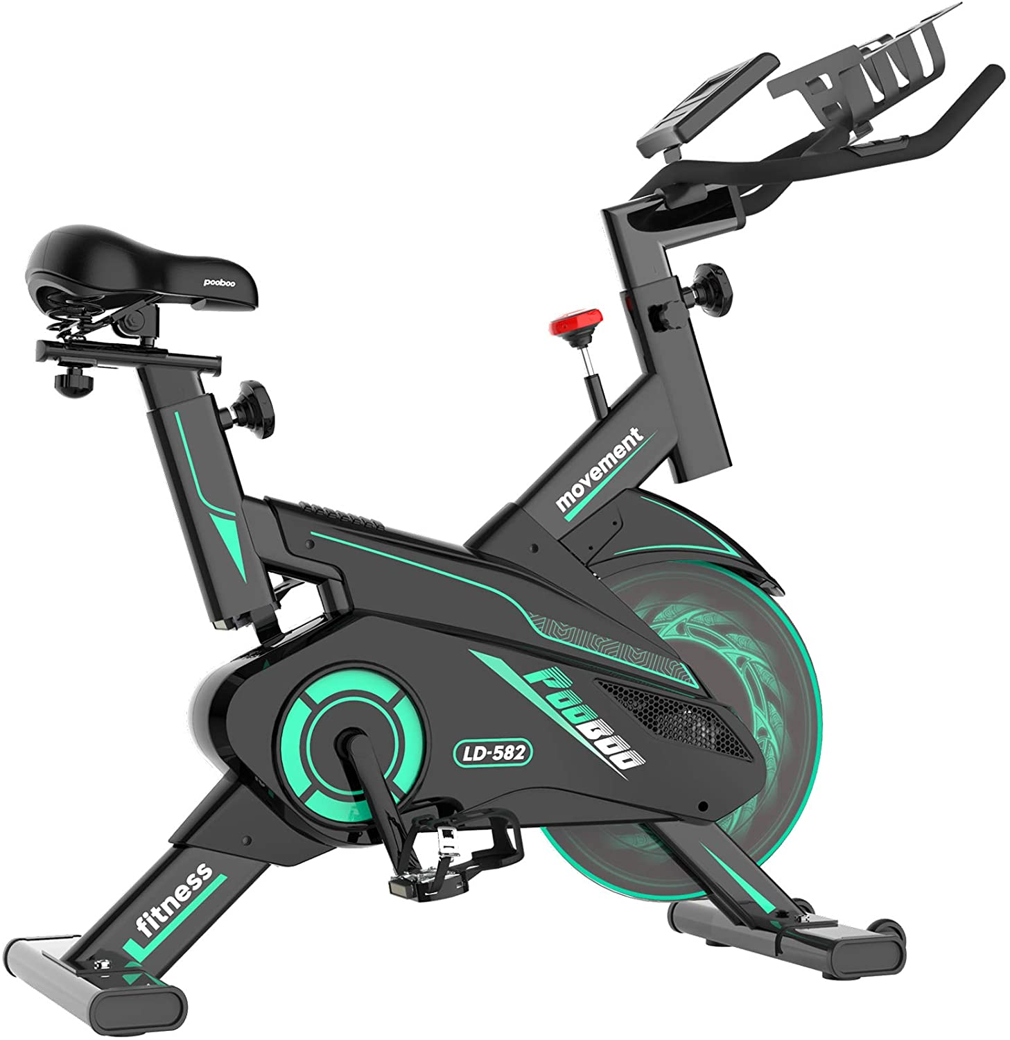 pooboo Magnetic Indoor Stationary Exercise Bike