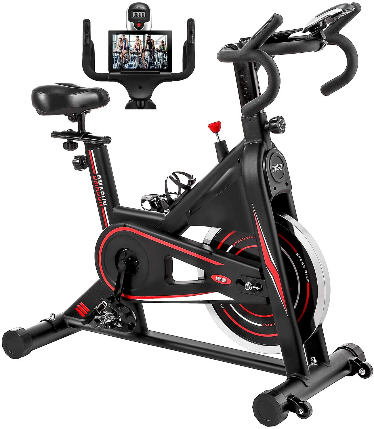 DMASUN Indoor Stationary Exercise Bike